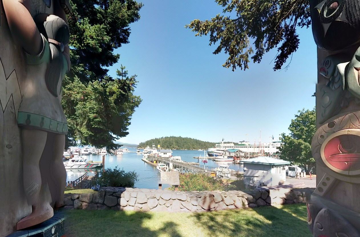 Friday Harbor, San Juan Island, Washington