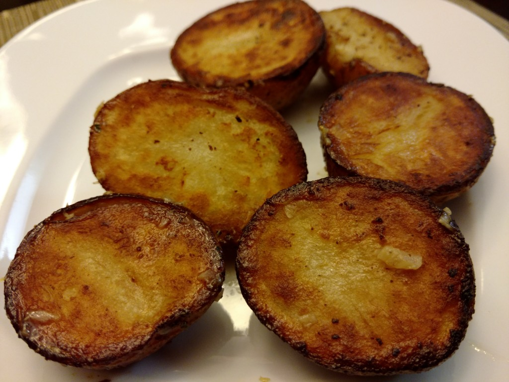 Crispy Braised Red Potatoes