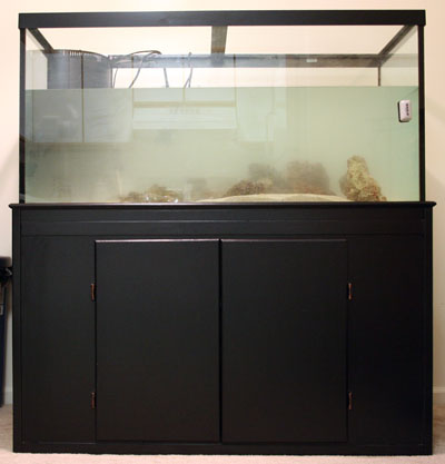 120g Tank Partially Filled