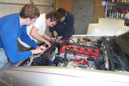 SR20DET Engine Installation