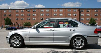 BMW 330i Drivers Side View