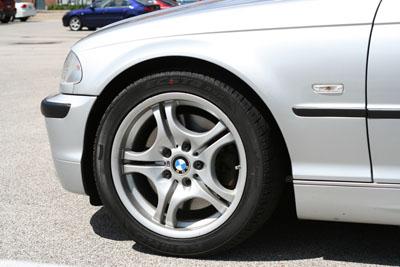 BMW 330i Front Fender
